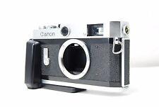 **RARE Grip**  Canon P 35mm Rangefinder Film Camera  SN719504  **Excellent+**