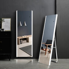 59x20in Full-Length Mirror with Led Light Freestanding Tri-Color Dimmable Mirror