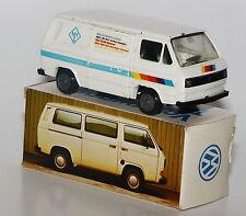 "Conrad Scale 1/43 - Werbemodell - VW T3 Transporter ""MHZ"" in Volkswagen-Werbebox"