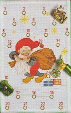Stickpackung, permin, Adventskalender, Weihnachten, Kreuzstich, sticken, 30x47cm