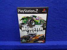ps2 MONSTER JAM Monster Trucks Causing Destruction + Mayhem PAL ENGLISH Version