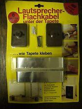 8m Lautsprecher Flachkabel 2 x 1,6 mm²