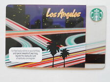 COLLECTABLE LIMITED EDITION LOS ANGELES L.A. STARBUCK GIFT CARD NEW NO SCRATCH