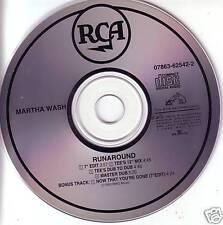 MARTHA WASH Runaround MIXS & DUBS & EDITS CD Todd Terry