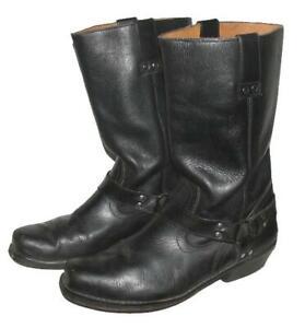 Wow Men's Western Boots / Biker Boots IN Black Approx. 42,5 - 43