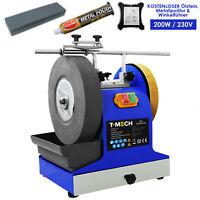 Nass-Schleifsystem Nassschleifmaschine 200W Schleifmaschine mit Zubehör 250mm