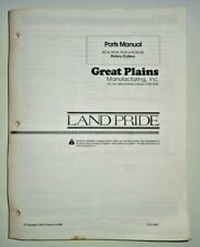 Great Plains Rc15253535120 Rotary Cutter Mower Parts Manual Book Land Pride
