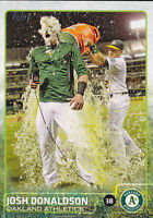 2015 Topps Josh Donalson Photo Variation Gatorade Bath SP