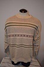 Polo Ralph Lauren Fair Isle Sweater Vest Men's Large L Cotton Fits like xl