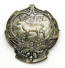 Spilla Montagna - Cervo In Passeggiata cm 4,2 x 3,8