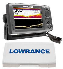 Kit Lowrance Ecoscandaglio Hook-7x con trasduttore DownScan + Sun Cover #6232030