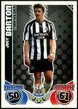 Joey Barton #229 Newcastle United Topps Match Attax Football 2010-11 Carte (C602)