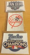 New York Yankees 2009 World Series Champions, Set Of 3 Collectible Magnets, New