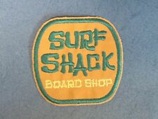Surf Shack Surfing Surfer Board Shop Sun beach embroidered patch