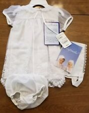 New! Keepsake Baby Girl Christening Baptism Outfit Hat Infant 6-9 Months