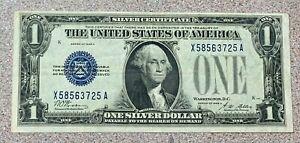 1928-A $1 Silver Certificate * Funny Back * Funnyback * Fantastic Shape!