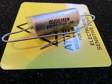 Gudeman .33uF, 200V, 10%, F407C334S-10 PIO Axial Capacitor Made In The USA, 1pc