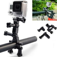 3-Way Handlebars Seat-posts Ski Poles Bar Mount for All GoPro's