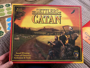 The Settlers of Catan  Board Game 3061. Opened but Unused.