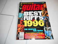 #34 GUITAR ONE music magazine BEST RIFFS OF 1996