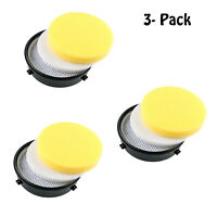3 pack 18671 Filter  for Bissell 1650 Series Pet Hair Eraser Vacuums