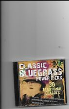 """CLASSIC BLUEGRASS, CD """"30 TRADITIONAL CLASSICS"""" NEW SEALED"""