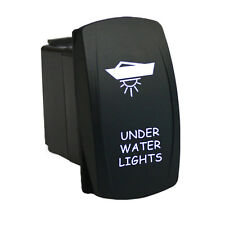 Rocker switch 6M15W 12V UNDER WATER LIGHTS waterproof marine LED white ON/OFF
