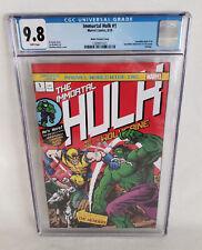 Immortal Hulk 1 Marvel Matthew Waite Incredible Hulk 181 16 Bit CGC 9.8 LTD 700