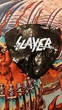 SLAYER Kerry King  crossed swords black marble guitar pick