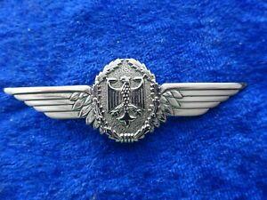 A26-07) Bundeswehr Militär Luftfahrzeugführer Tätigkeitsabzeichen silber Pilot