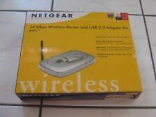 Netgear WGR614 WiFi Router and WG111 USB Adapter combo/bundle