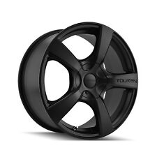 "16"" Touren TR9 Wheel Rim - Black 16x7 5x100 5x114.3 42 3190-6703MB"