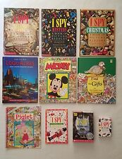 I Spy - Look & Find - Search Book Lot of 10 HB & PB + Computer & Card Games