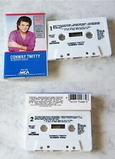 CONWAY TWITTY Number Ones .. 1990 MCA MC TOP
