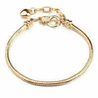 European Lobster Charm Bracelets Chain Fit DIY 925 Silver Pendant Beads
