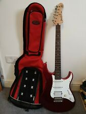 YAMAHA PACIFICA ELECTRIC GUITAR AND STAGG CASE -RELISTED