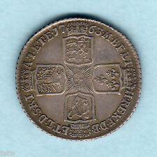 Great Britain. 1763 George 111 - Northumberland Shilling..  RARE - gVF