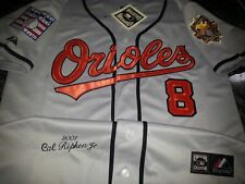 BALTIMORE ORIOLES CAL RIPKEN JR Cooperstown Collection Sewn Jersey GREY NWT XXL