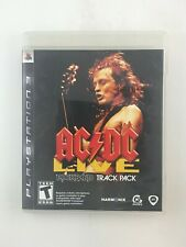 AC/DC Live: Rock Band Track Pack - Playstation 3 PS3 Game - Complete & Tested