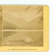 B785 Kilburn 84 Franconia Notch From Echo Lake New Hampshire D