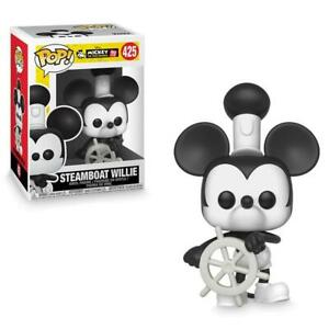 Disney Mickey Mouse 90th Anniversary Steamboat Willie Pop! Vinyl #425