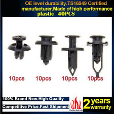 Car Plastic Rivets Fastener Clips Bumper Push Pin Rivet Retainer Trim Moulding