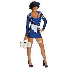 Betty Boop Sailor Costume M Medium Halloween Blue Dress