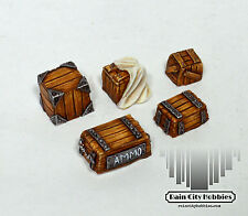 28mm-32mm Scale Crate Basing Details - Malifaux/Warmachine/Warhammer/Infinity