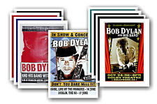 BOB DYLAN - 10 promotionnel affiches - de collection lot carte postale # 3