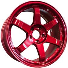RAYS Volk Racing TE37SL Hyper Red 5x114.3 18x10 +40