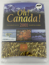 2001 Oh! Canada! Uncirculated Coin Set - Royal Canadian Mint
