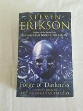 Forge of Darkness by Steven Erikson(KHARKANAS,1st Edition/First Printing,signed)