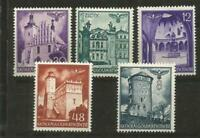 German Third Reich Stamps --  General Government  Lot -  Mint Hinged Lot