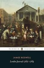 London Journal 1762-1763 (Penguin Classics), By Boswell, James,in Used but Good